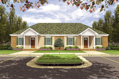 Open Living Duplex in Multiple Sizes - 5183MM thumb - 01