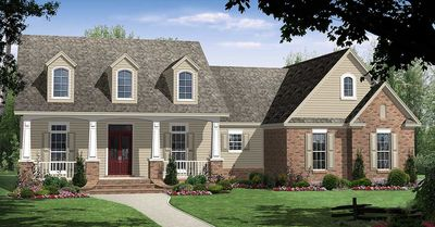 Quaint Country House Plan - 5191MM thumb - 01