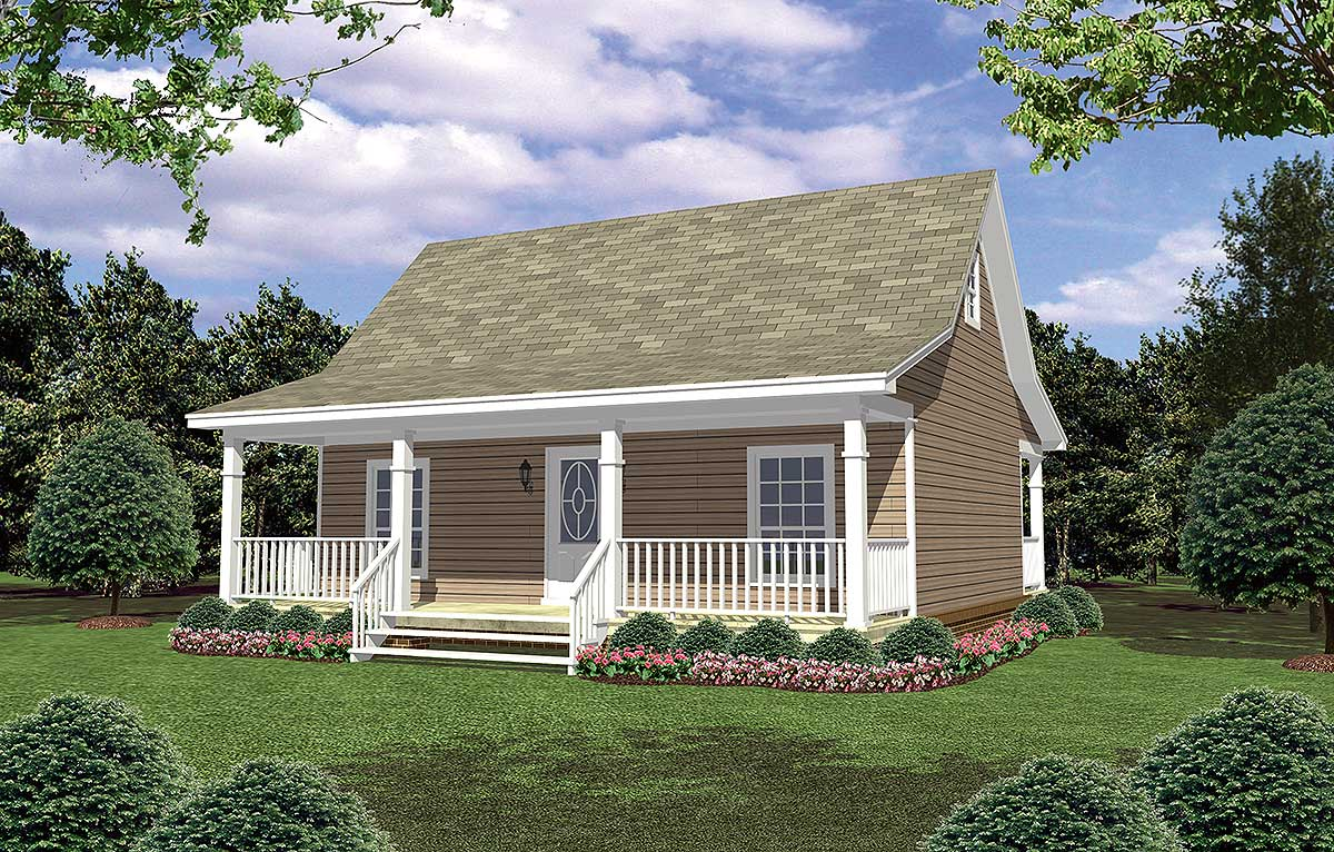 Weekend getaway 5194mm architectural designs house plans for Weekend cottage plans