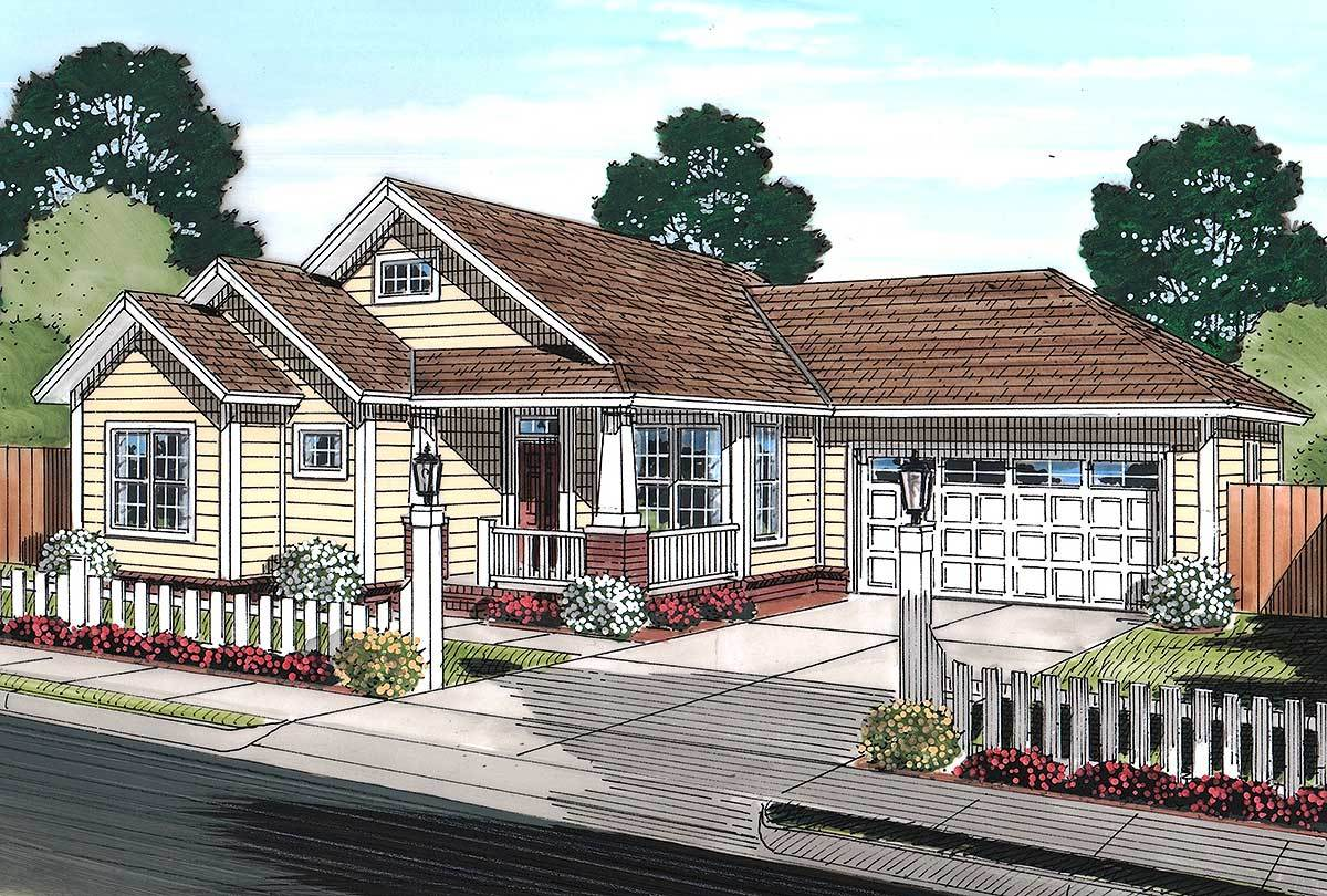 Cozy Cottage 52230wm Architectural Designs House Plans