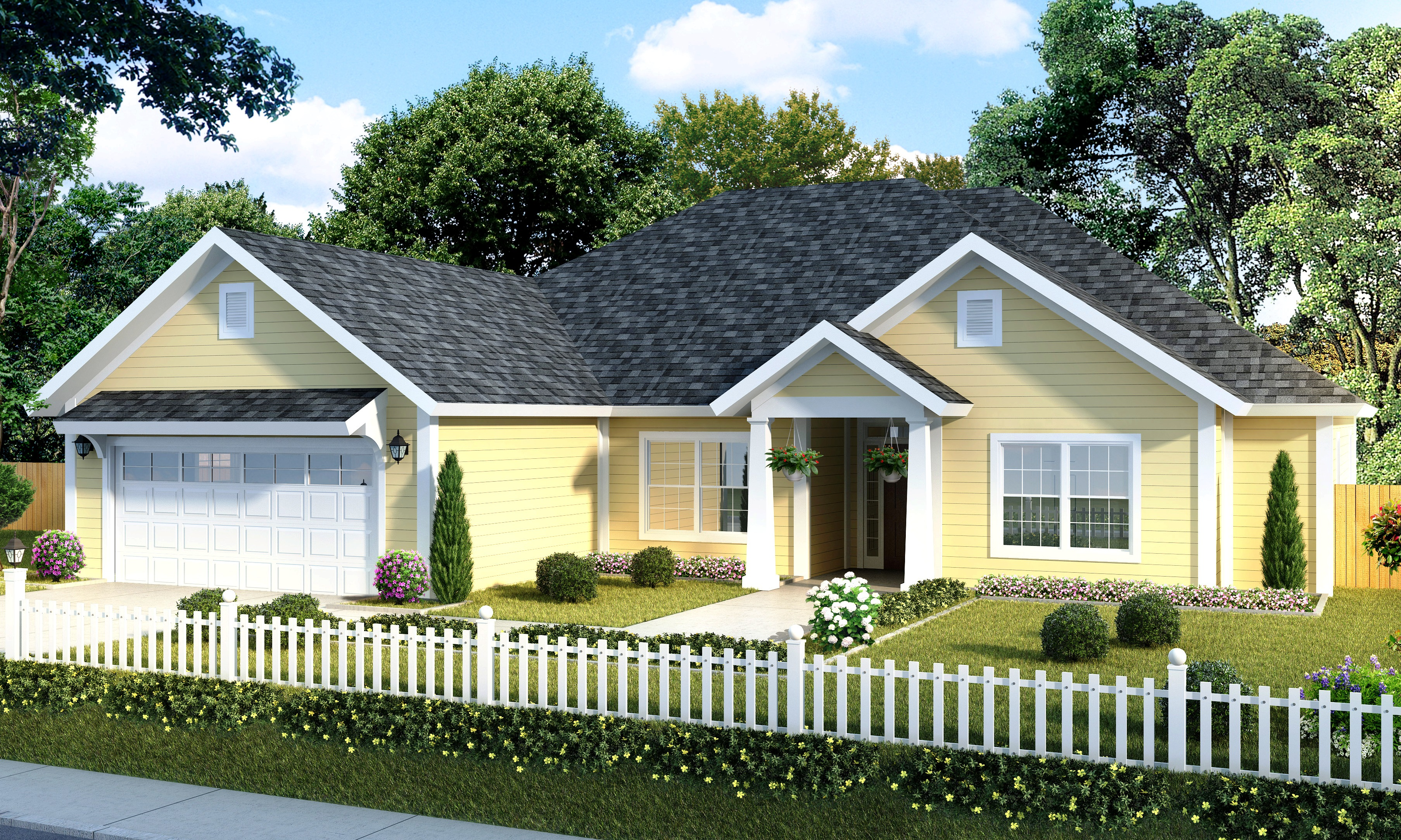Southern House Plan Southern House Plan With Five Bedrooms  52266Wm  Architectural
