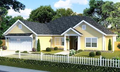 Southern House Plan with Five Bedrooms 52266WM Architectural