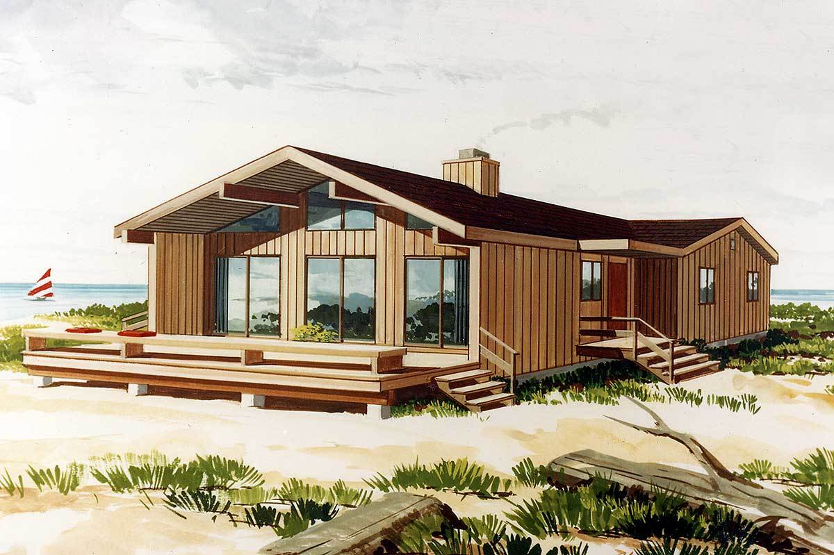 Tiny Home Designs: Year Round Vacation Home - 0540P