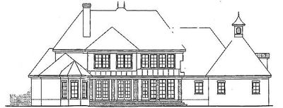 French Country Home Plan with Options - 54010LK thumb - 06