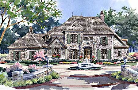 rustic french country house plans