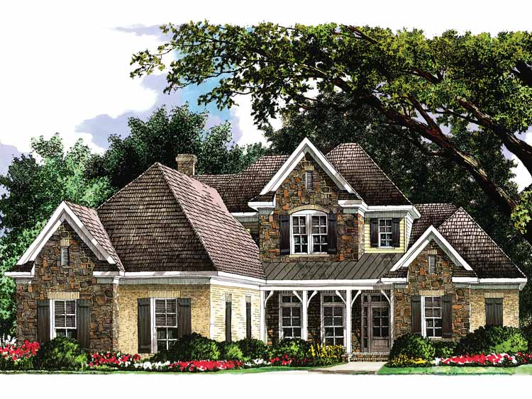 french country cottage 5467lk architectural designs
