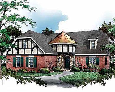 English Tudor Cottage 5472lk Architectural Designs