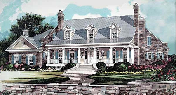 Grand Foyer Welcome House Plan : Grand foyer lk st floor master suite bonus room
