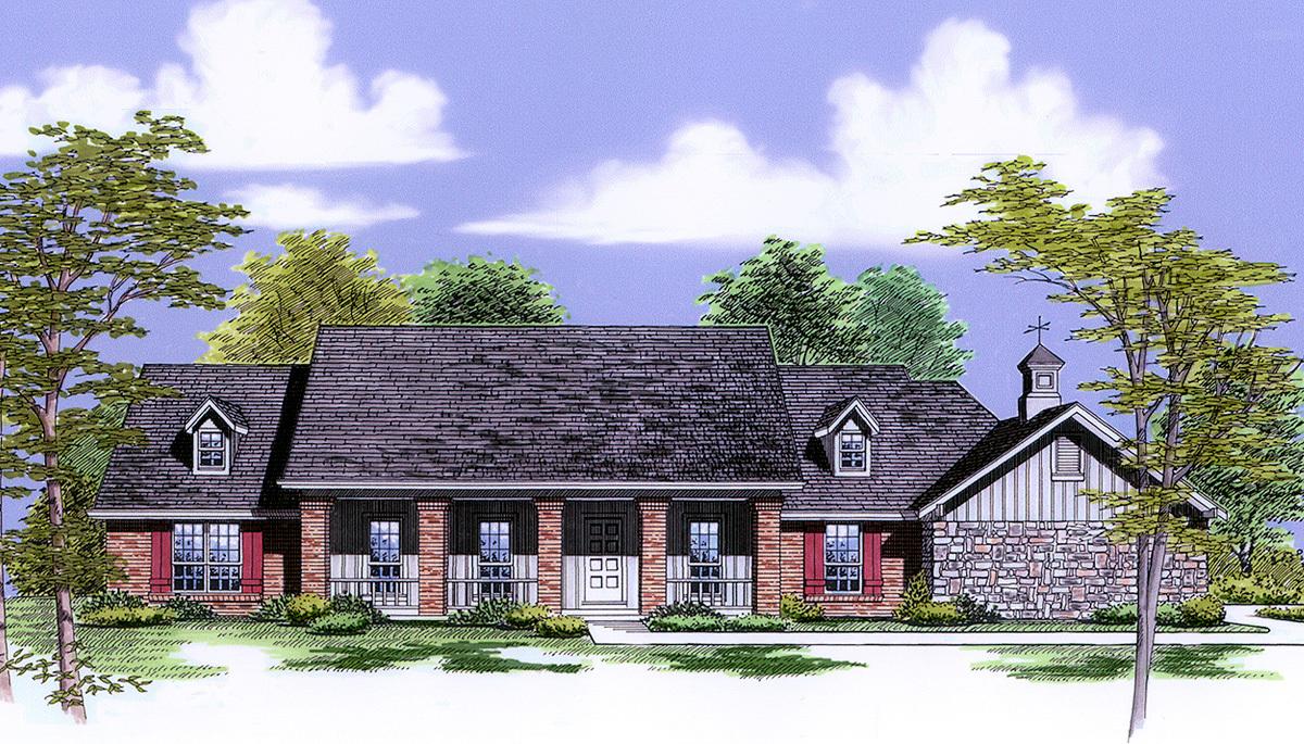 Big Porches 55046br Architectural Designs House Plans