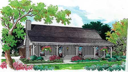Simple and Economical 5506BR Architectural Designs House Plans