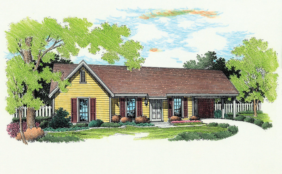 Cozy and compact 5510br architectural designs house for Cozy home plans