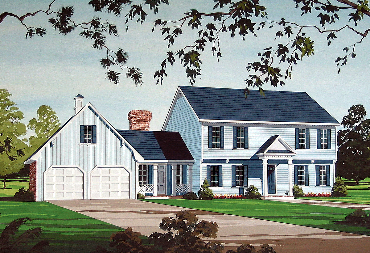 Timeless traditional design 55128br architectural for Timeless house plans