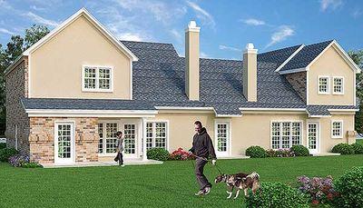 Affordable duplex house plan 55170br architectural for Cheap duplex plans