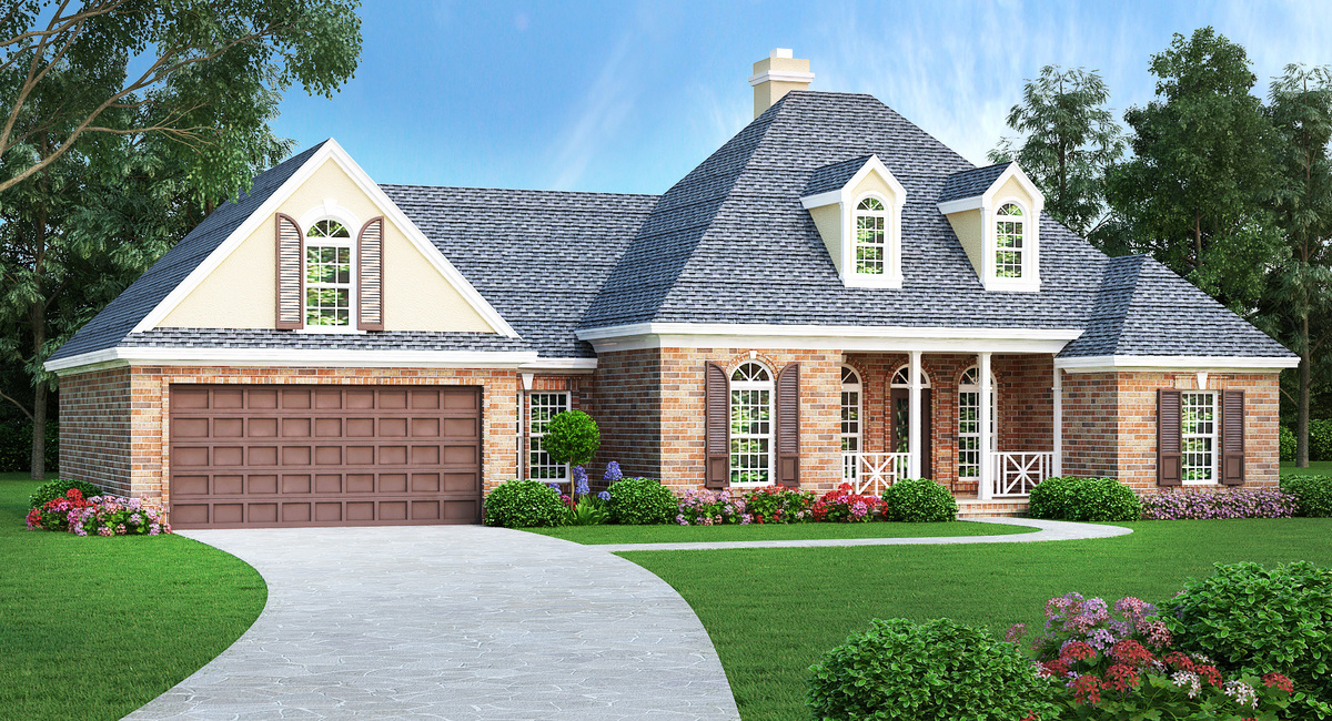 3 Bed Step Saving House Plan 55179br Architectural