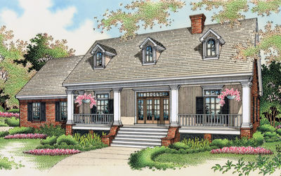 Popular Southern Plantation Design - 5534BR thumb - 01