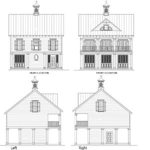 Beach house plan with observation room 5572br 1st for House plans with observation room