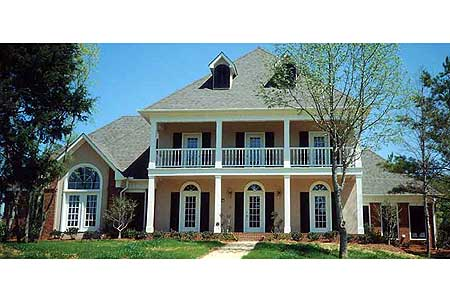 Stately plantation style design 5579br architectural for Stately house plans