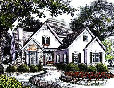 Cozy English Cottage 56104ad Architectural Designs