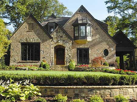 Architectural designs for English manor home designs