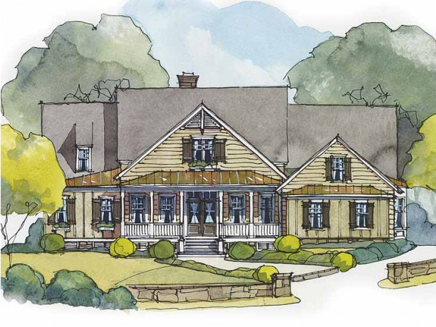 Country house plan with delightful sun room 56163ad for Sun house plans
