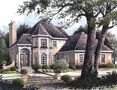 French manor house plan 5624ad architectural designs for French manor house plans