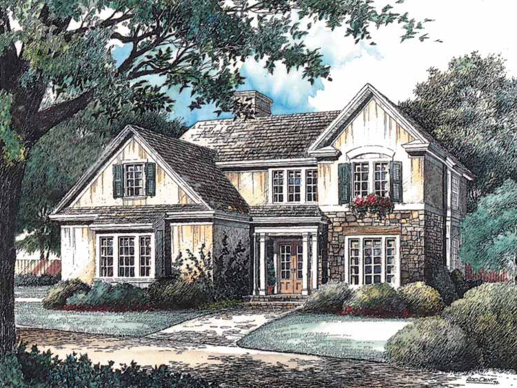 English country home plan 5628ad architectural designs for English country house plans