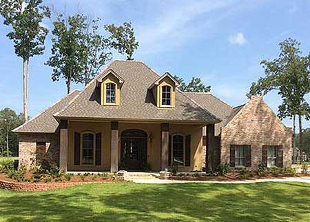 4 Bedroom Louisiana Style Home Plan 56301sm Acadian