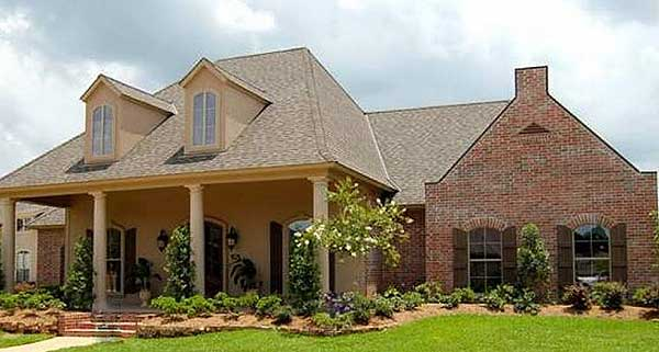 4 bedroom louisiana style home plan 56301sm 1st floor for Louisiana acadian house plans