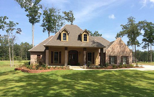 Architectural designs for Louisiana style home designs