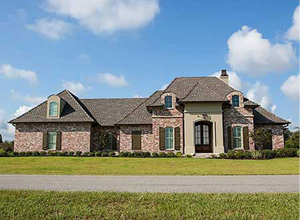 4 Bed French Country With Bonus   56326SM | Architectural Designs   House  Plans