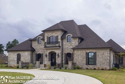 Grand French Country Home Plan 56328SM Architectural Designs