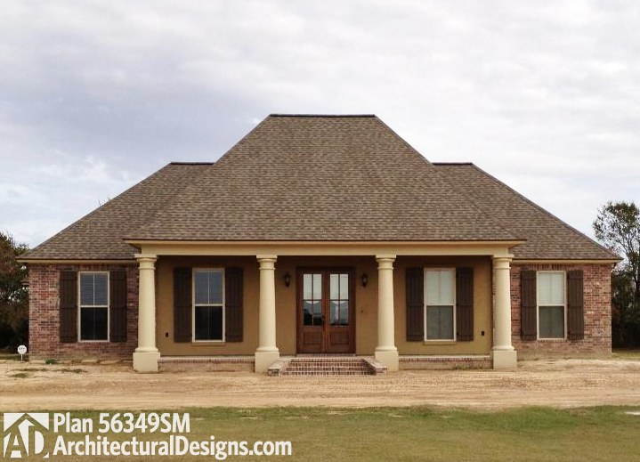 Southern Home Plan With Open Layout 56349sm