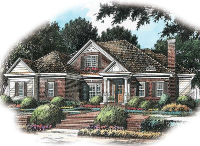 Gracious Cottage Design - 5635AD thumb - 01