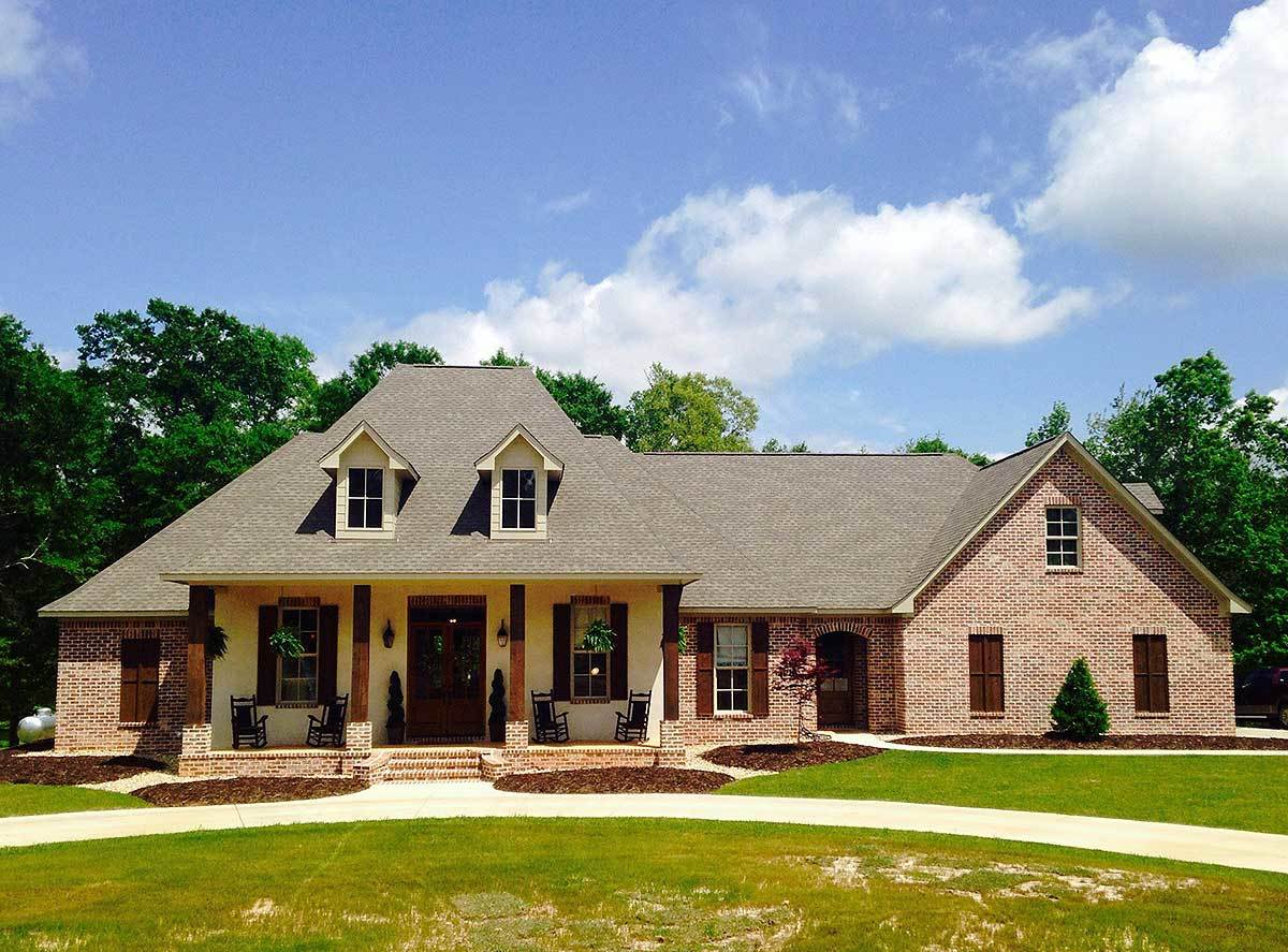 Acadian house plans architectural designs for Louisiana house plans