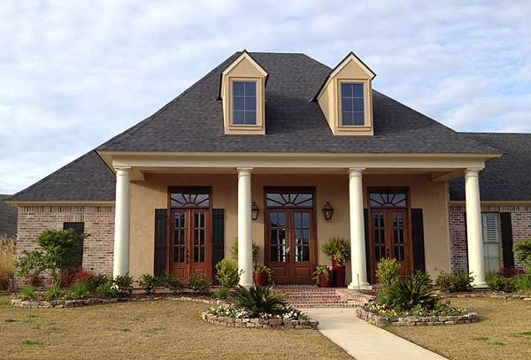 Lovely Louisiana Home Plan   SM   st Floor Master Suite    Plan SM ArchitecturalDesigns com