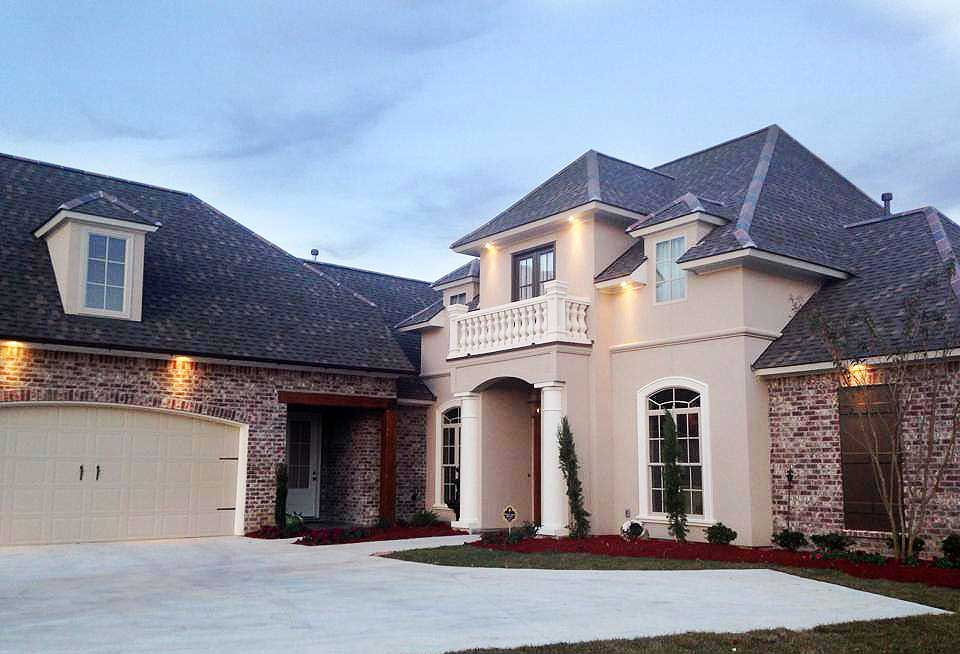 Elegant french country home plan 56368sm 1st floor for Elegant country homes