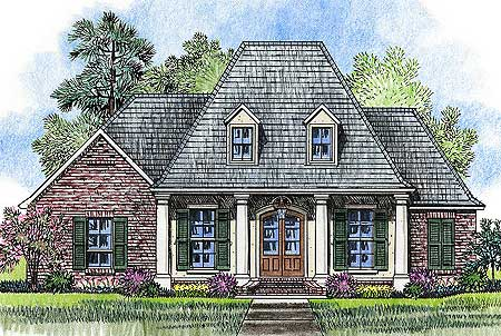 Acadian French Home Plans Home Design And Style