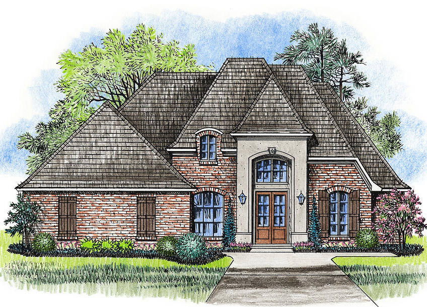 Four Bed French Country Classic - 56374SM
