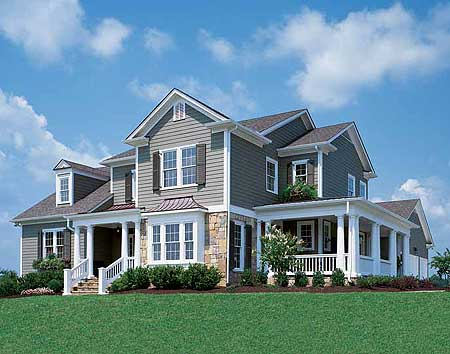 Stately home plan for corner lot 5638ad 1st floor Corner lot home designs