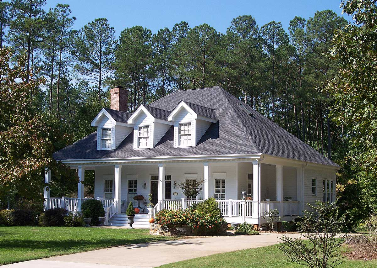 Adorable southern home plan 5669tr architectural for Southern home plans designs