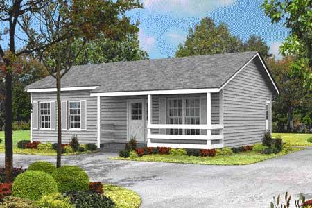 Starter or retirement ranch home 57005ha 1st floor for Retirement house plans small