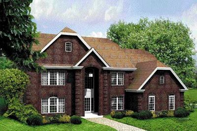 Fully Equipped Six Bedroom Home Plan - 57018HA thumb - 01