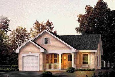 Elegant starter or retirement home 57037ha 1st floor for Retirement cottage plans