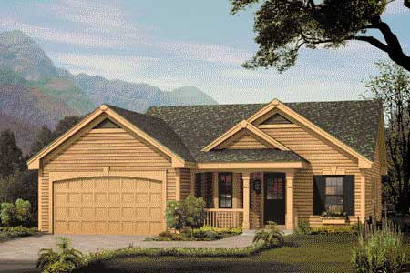Excellent Home Plan For A Small Family 57040ha 1st