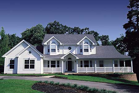 5 Bedroom Home Plan Embraces Large Family - 5705HA | Architectural ...