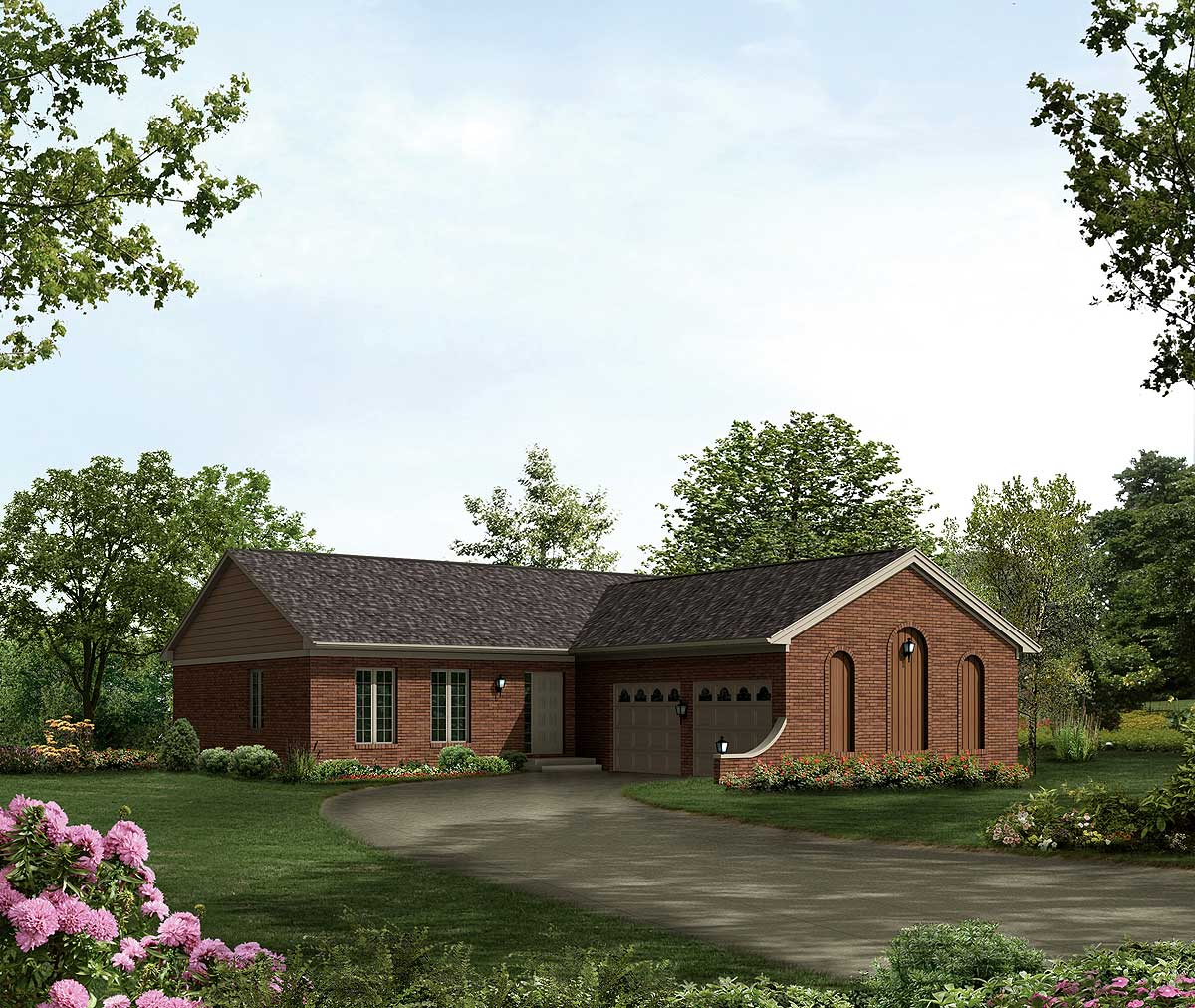 L Shaped Ranch With Many Amenities 57052ha