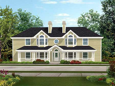 Fourplex with southern charm 57077ha architectural Southern charm house plans