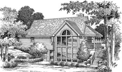 Tranquility of an Atrium Cottage - 5709HA thumb - 08