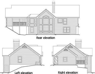 Country ranch with atrium views 57106ha architectural for Atrium ranch house plans