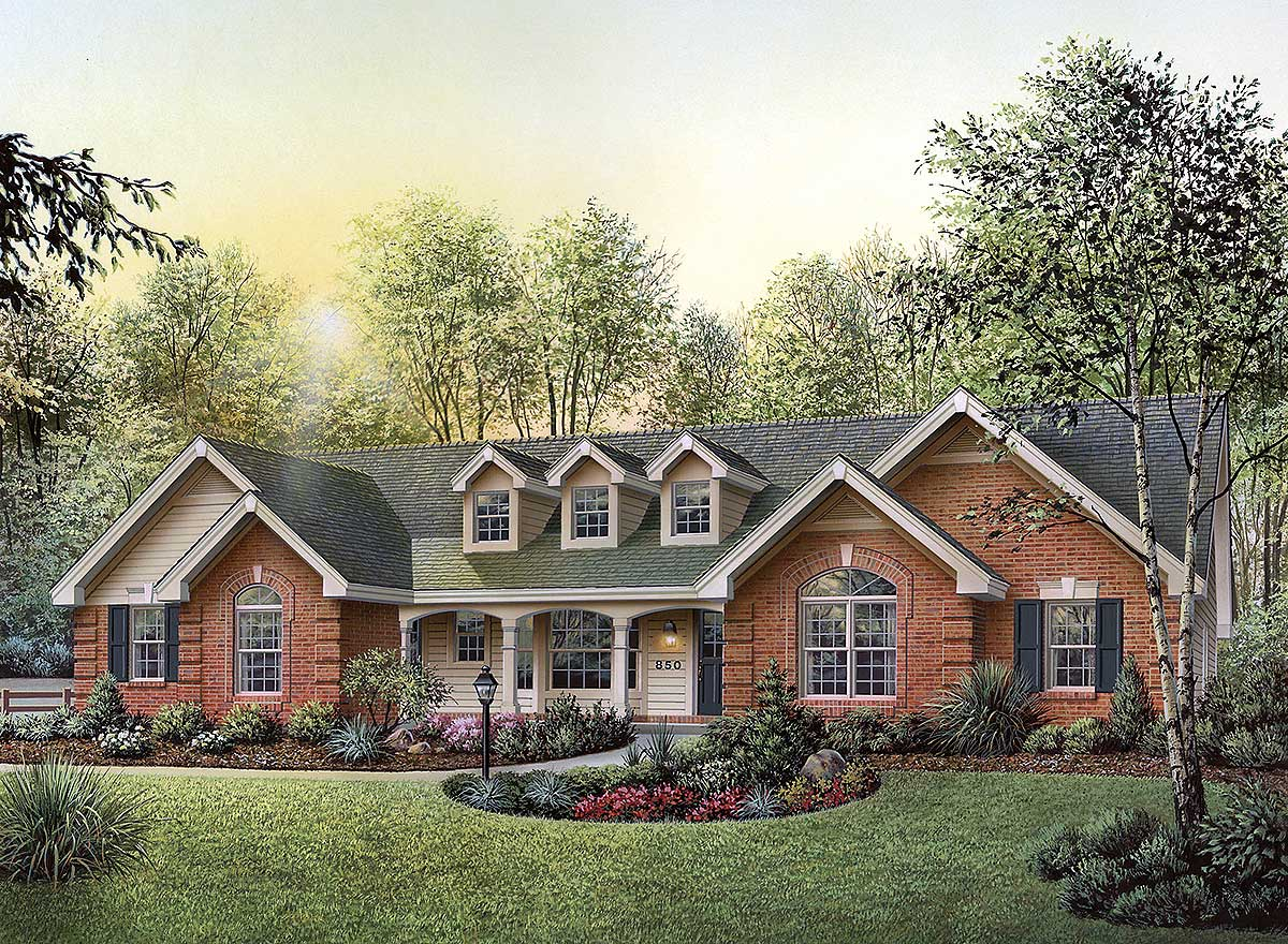 This Ranch Home Plan Has It All